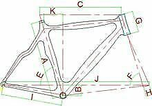 Carbon Fibre Only Bicycle Frames