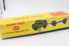 DINKY TOYS 697 * 25 POUNDER FIELD GUN SET  * OVP * 1:43 * MECCANO