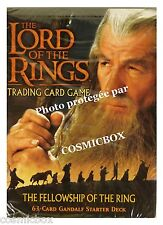 deck LORD of the RINGS starter FELLOWSHIP of the RING GANDALF 63 cards carte NEW