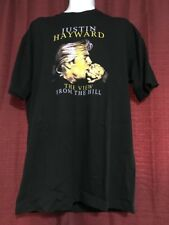 Vintage Justin Hayward The View from the Hill 1997 T-Shirt XL Moody Blues New