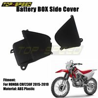 Motorcycle OEM Battery Box Side Cover Plastic for Honda CRF230F CRF 230F 2015-19