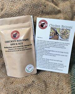 NEW! Bite Me Spices Chicken Biriyani Spice Kit (Serves 4)