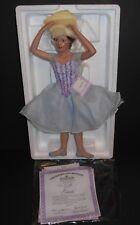 The Ashton Drake Galleries Dress Rehearsal Gabrielle Ballerina Porcelain Doll