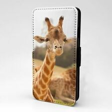 For iPod Touch Flip Case Cover 5th 6th Gen Cute Giraffe - S2038