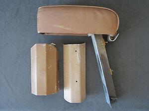 Beech Baron Beechcraft Interior Cabin Front Seat Center Armrest P/N 35-534372-77