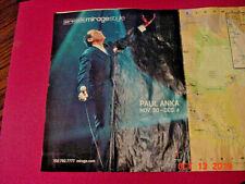 Paul Anka at the Mirage maps Lady Luck 2 free shows. nov-dec 2000 program guide
