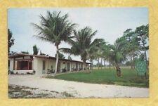 FL Stuart 1963 vintage postcard LODGE ON THE GREEN Florida to North Haven Conn