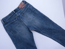 *E-012 VINTAGE DIESEL MADE Italy Kratt Blue WASH Button Fly Denim Jeans SZ 33