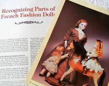 22p History Article  - Parts & Markings of Antique French Fashion Dolls
