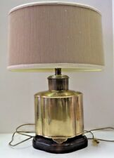 Vintage Brass Table Lamp By Frederick Cooper Chicago + Original shade!