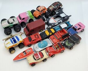 Micro Machines Random Lot of 18 Cars Trucks Monster Trucks Boats Deluxe Lot 1