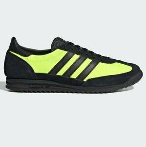 adidas Originals SL 72 Shoes Black / Yellow Men's Trainers