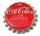 Vintage COCA-COLA Clásico LTP COKE SODA Tapa de botella EE.UU. gorra