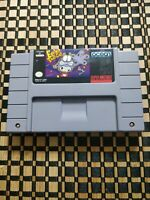 Eek The Cat (Super Nintendo Entertainment System, 1994) Authentic Tested Working