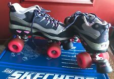 Skechers 4 Wheelers roller skates - 9 - slightly vintage, lots of miles left