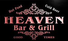 u19390-r HEAVEN Family Name Gift Bar & Grill Home Beer Neon Light Sign