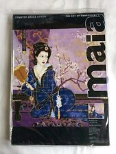 Anchor Maia - Counted Cross Stitch Kit - Lady With Fan - 5678000-01041 - 34x34cm