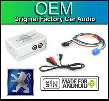Peugeot 307 AUX in lead Car stereo Android Smartphone player connection adapter