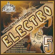 CBR UNDERGROUND ELECTRO VOL.5/Bass,Electro,Rap,Funk,VOCODER*Breakdance 2014*Rare