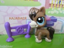 ☆♥ Littlest Pet Shop ☆ cheval horse glydesdale #2292 ☆ Sparkle Paillettes ☆ RAR Neuf