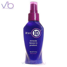 IT'S A 10 Miracle Leave In Product 120ml / 4oz All In One Treatment, its a 10