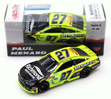 NASCAR 2017 PAUL MENARD #27 RICHMOND WATER HEATERS MENARDS 1/64 DIECAST CAR