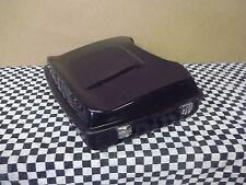 Harley Black Razor Tour Pack with wing bagger Touring  Hinged and latched