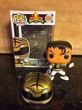 Funko Pop! White Ranger Tommy Oliver Morphin Power Rangers *Unmasked Custom