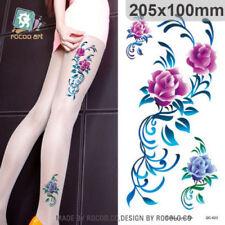 Body Art Waterproof Temporary Tattoo Sticker sexy Beautiful bracelet Large Arm