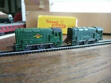 A PAIR OF TRIANG TT T95 DIESEL SHUNTING ENGINES 13007 and D3115