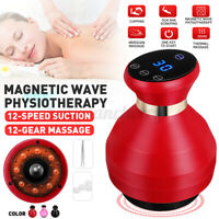 Electric Cupping Scraping Guasha Massager Body Device Slim Detoxification