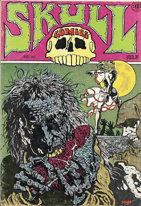 Skull Comics #3 Underground Comic (1971) Greg Irons, RIchard Corben, Tom Veitch