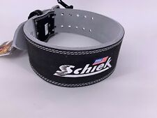 NEW SCHIEK Competition Power Weight Lifting Belt Leather BLACK 6010 XXL
