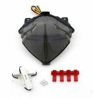 Integrated LED TailLight Turn Signals For Yamaha YZF 1000 R1 2004-2006 Smoke AU5