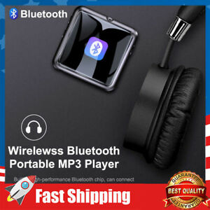 Mp3 Player Bluetooth 4.1 Voice Recorder Music Player Portable HIFI USB TF Card