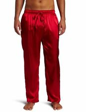 INTIMO MEN'S LUXE SILK RED PAJAMA PANTS SIZE S NWT