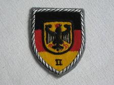 Bundeswehr DISTINTIVO ASSOCIAZIONE RICAMATO INIZIALI wehrbereichskommando II