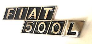 Fiat 500L Metall Schriftzug  SUPER QUALITÄT