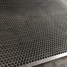 Stahl Lochblech Streckgitter  Hexagonal 1,5mm HV6-6,7 600 mm x 125mm Neu Gitter