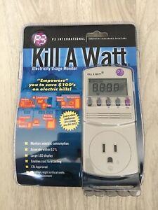 P3 International Kill A Watt Electricity Usage Monitor (Model P4400.01) - NEW