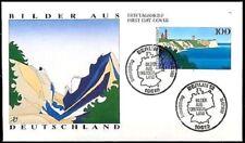 BRD 1993: Kap Arkona mit Leuchttürmen! FDC der Nr. 1684! Berliner Stempel! 1806