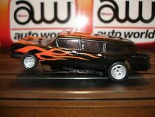 Auto World '59 Cadillac Ambulance with Flames ~ New in Jewel Case ~ Fits AFX, AW