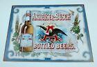 2008 ANHEUSER-BUSCH BOTTLED BEERS Tin Sign EAGLE