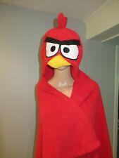Angry Birds Kids Fleece Hoodie Blanket Wrap