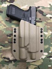 FDE Kydex Holster for Glock 19 23 Thread Barrel Surefire X300 Ultra