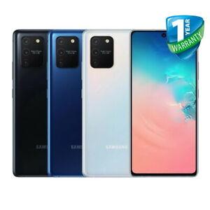 Samsung Galaxy S10 Lite SM-G770F 128GB Black UNLOCKED - Bronze Grade