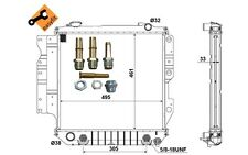 NRF Radiador, refrigeración del motor JEEP WRANGLER 50315