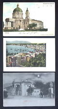 ITALY mixed lot 9 PPCs different areas u/bs