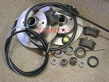 VW GOLF MK2 GTI REAR BRAKE DISCS & PADS CABLES C455