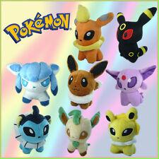 """8X Nintendo Pokemon Eevee Espeon Umbreon Soft Stuffed Animal Plush Toy ETC 5"""""""